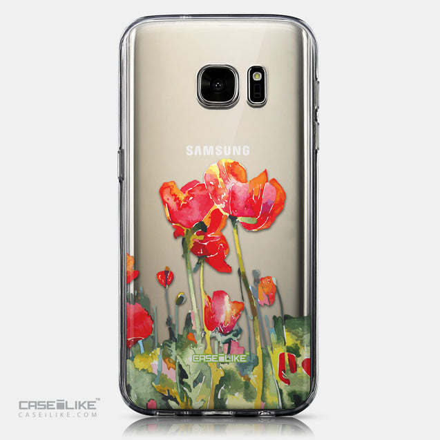 CASEiLIKE Samsung Galaxy S7 back cover Watercolor Floral 2230