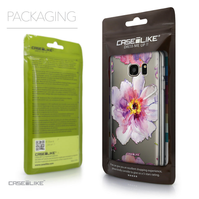 Packaging - CASEiLIKE Samsung Galaxy S7 back cover Watercolor Floral 2231