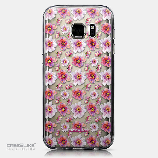 CASEiLIKE Samsung Galaxy S7 back cover Watercolor Floral 2232