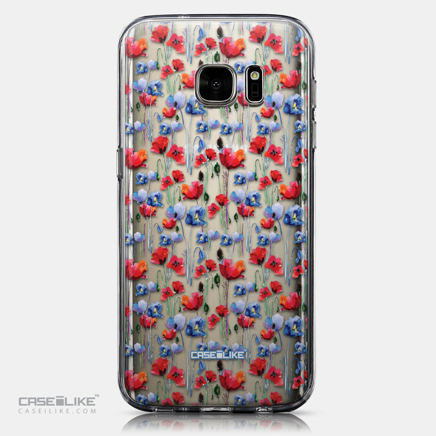 CASEiLIKE Samsung Galaxy S7 back cover Watercolor Floral 2233