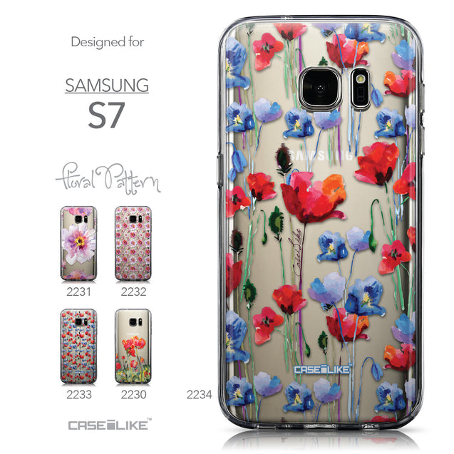 Collection - CASEiLIKE Samsung Galaxy S7 back cover Indian Line Art 2061
