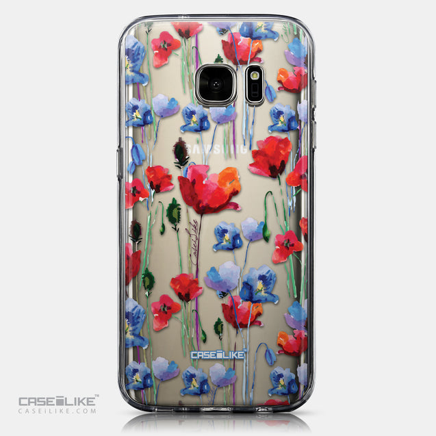 CASEiLIKE Samsung Galaxy S7 back cover Watercolor Floral 2234