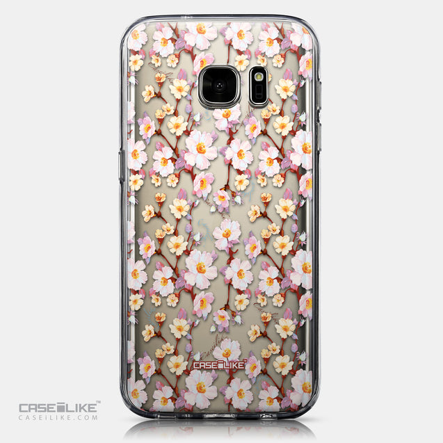 CASEiLIKE Samsung Galaxy S7 back cover Watercolor Floral 2236