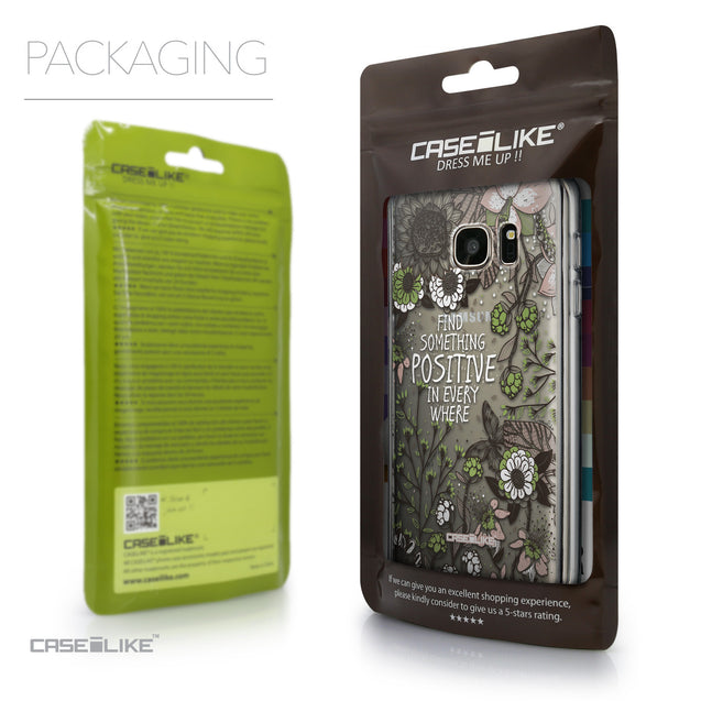 Packaging - CASEiLIKE Samsung Galaxy S7 back cover Blooming Flowers 2250