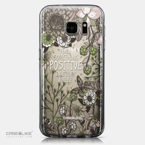 CASEiLIKE Samsung Galaxy S7 back cover Blooming Flowers 2250