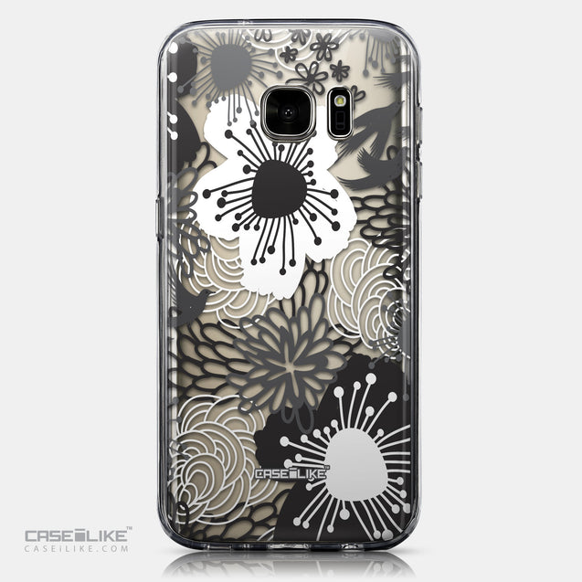 CASEiLIKE Samsung Galaxy S7 back cover Japanese Floral 2256