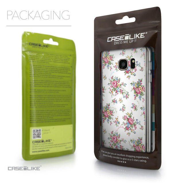 Packaging - CASEiLIKE Samsung Galaxy S7 back cover Floral Rose Classic 2260