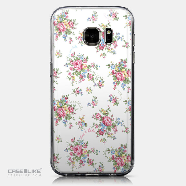 CASEiLIKE Samsung Galaxy S7 back cover Floral Rose Classic 2260