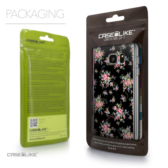 Packaging - CASEiLIKE Samsung Galaxy S7 back cover Floral Rose Classic 2261
