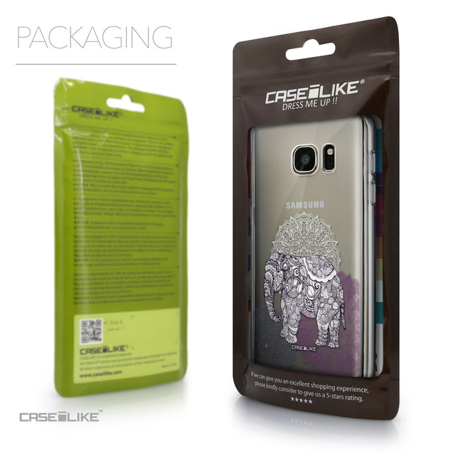 Packaging - CASEiLIKE Samsung Galaxy S7 back cover Mandala Art 2301