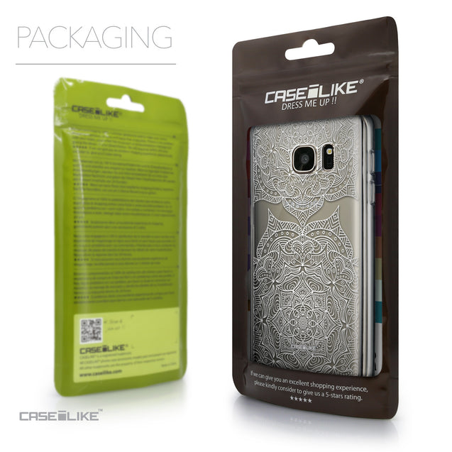 Packaging - CASEiLIKE Samsung Galaxy S7 back cover Mandala Art 2303
