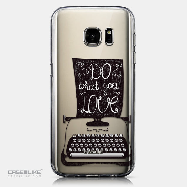 CASEiLIKE Samsung Galaxy S7 back cover Quote 2400