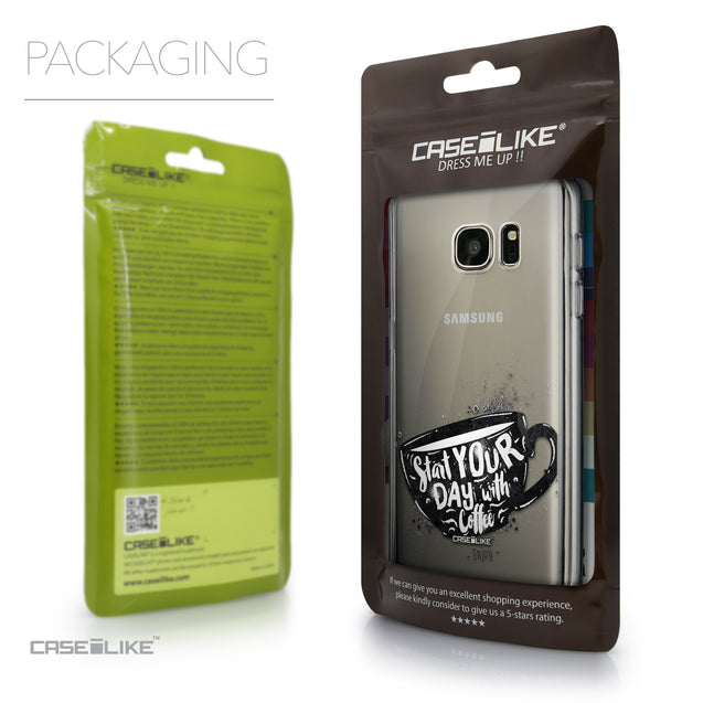 Packaging - CASEiLIKE Samsung Galaxy S7 back cover Quote 2402