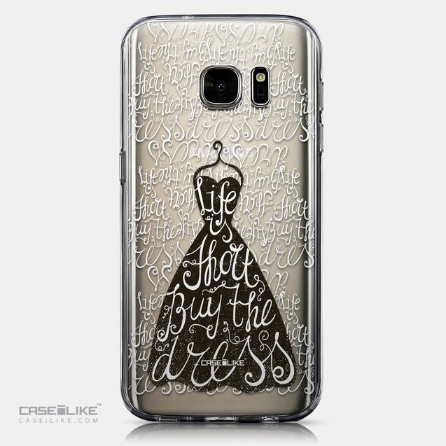 CASEiLIKE Samsung Galaxy S7 back cover Quote 2404