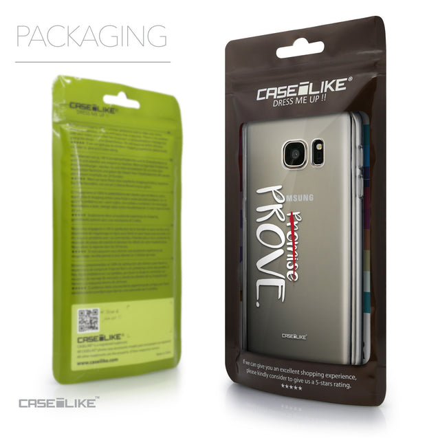 Packaging - CASEiLIKE Samsung Galaxy S7 back cover Quote 2409