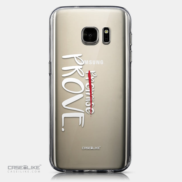 CASEiLIKE Samsung Galaxy S7 back cover Quote 2409