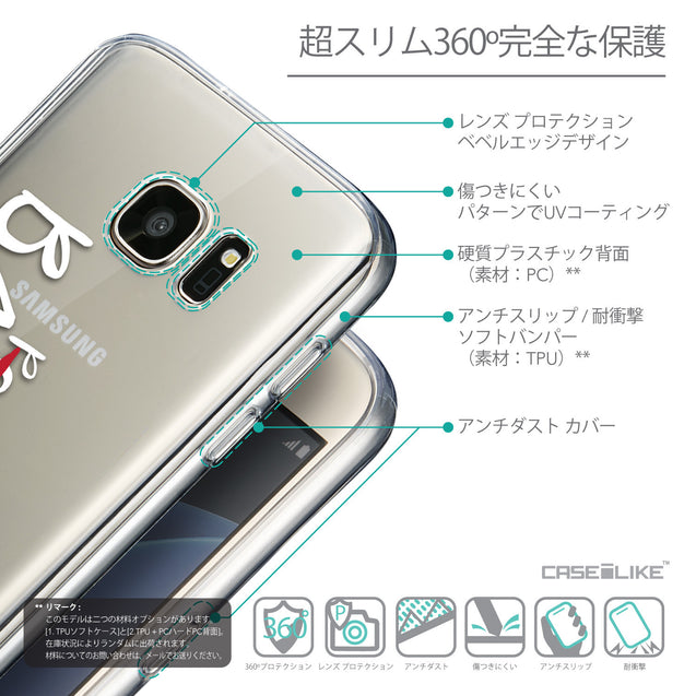Details in Japanese - CASEiLIKE Samsung Galaxy S7 back cover Quote 2410