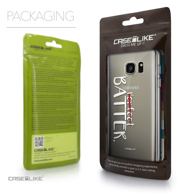 Packaging - CASEiLIKE Samsung Galaxy S7 back cover Quote 2410