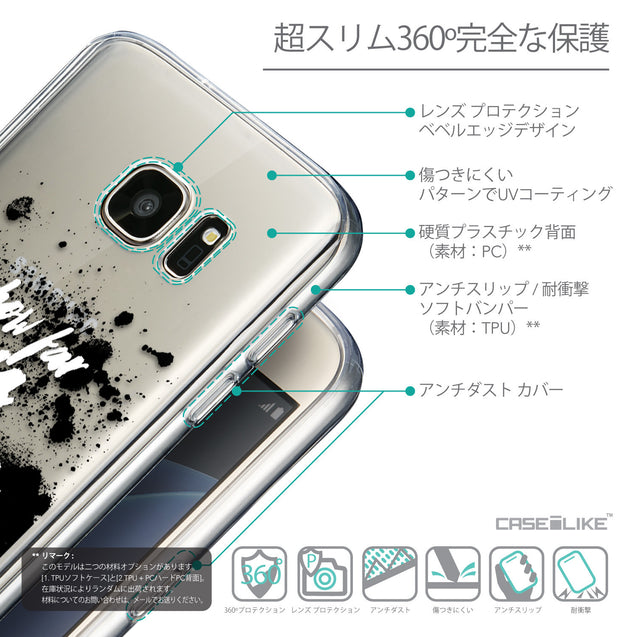 Details in Japanese - CASEiLIKE Samsung Galaxy S7 back cover Quote 2413