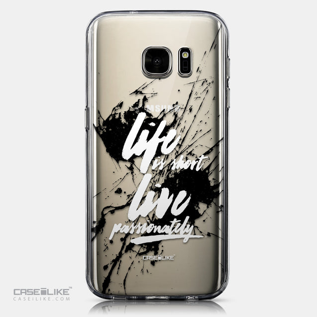 CASEiLIKE Samsung Galaxy S7 back cover Quote 2416
