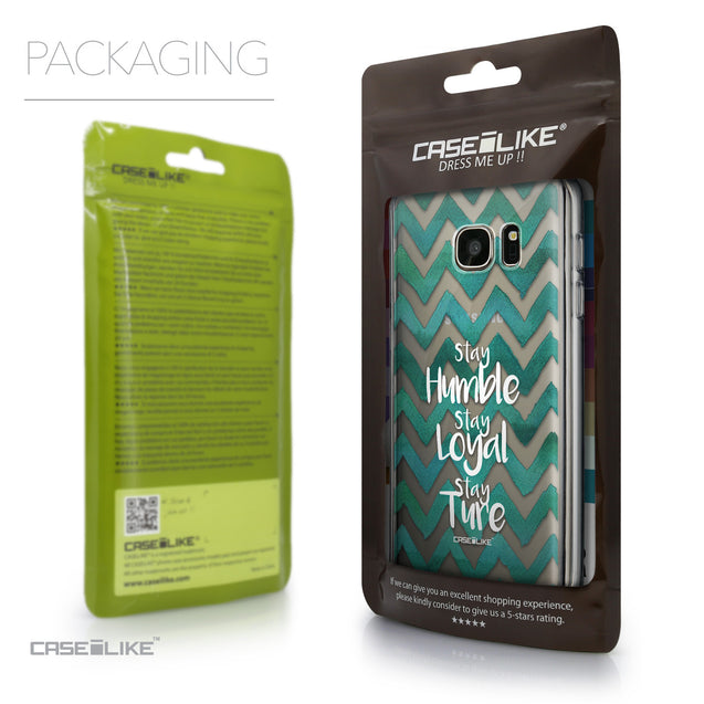 Packaging - CASEiLIKE Samsung Galaxy S7 back cover Quote 2418