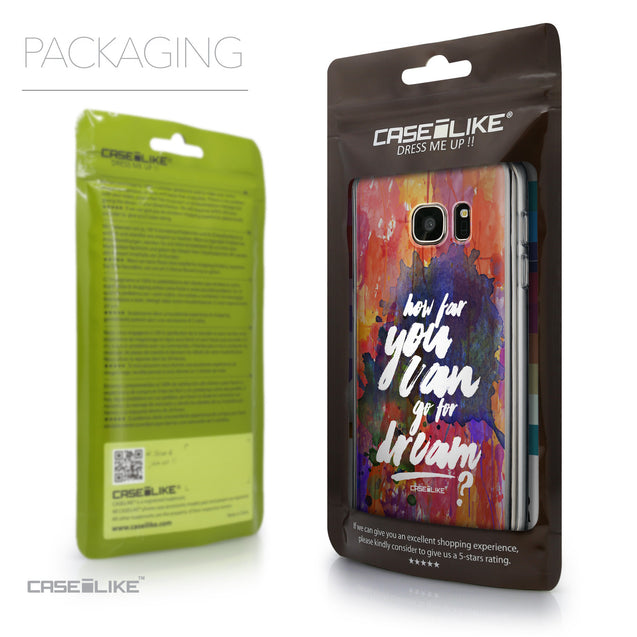Packaging - CASEiLIKE Samsung Galaxy S7 back cover Quote 2421