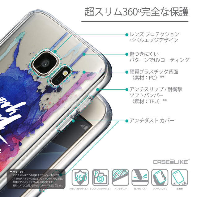 Details in Japanese - CASEiLIKE Samsung Galaxy S7 back cover Quote 2422