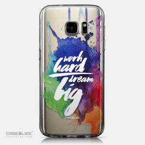 CASEiLIKE Samsung Galaxy S7 back cover Quote 2422