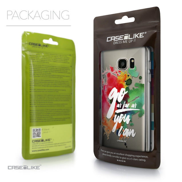 Packaging - CASEiLIKE Samsung Galaxy S7 back cover Quote 2424
