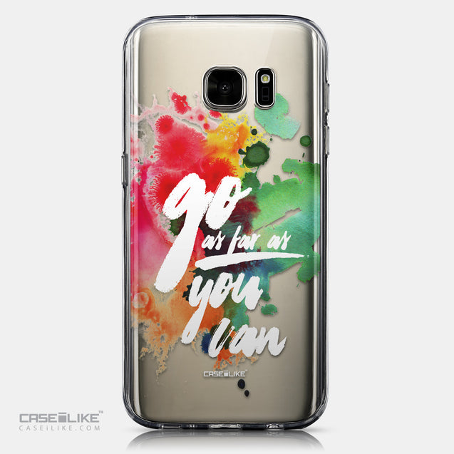 CASEiLIKE Samsung Galaxy S7 back cover Quote 2424