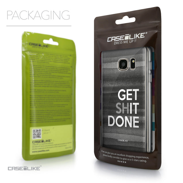 Packaging - CASEiLIKE Samsung Galaxy S7 back cover Quote 2429