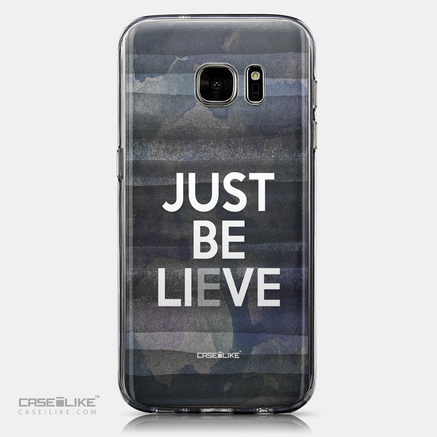 CASEiLIKE Samsung Galaxy S7 back cover Quote 2430