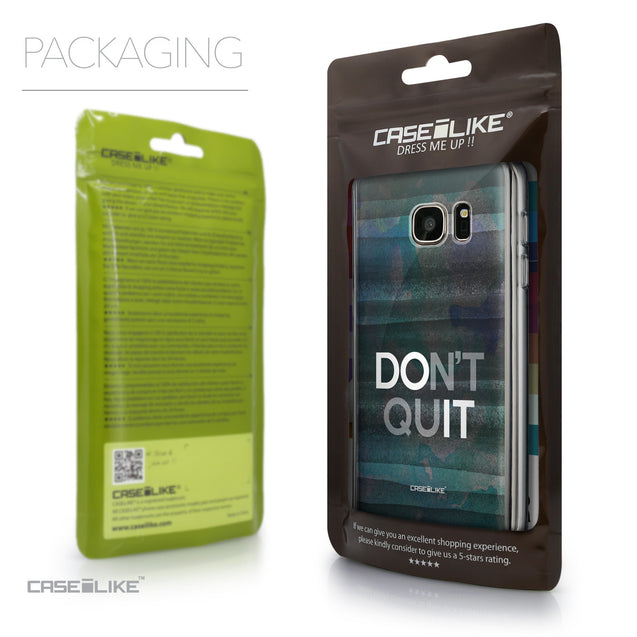 Packaging - CASEiLIKE Samsung Galaxy S7 back cover Quote 2431