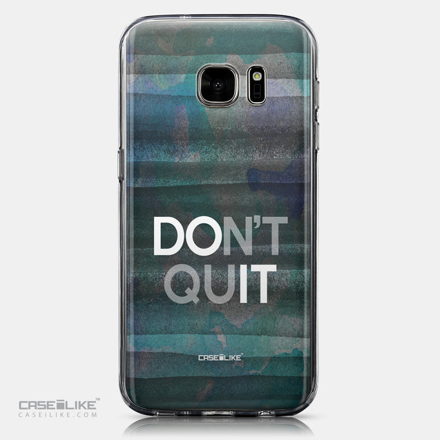 CASEiLIKE Samsung Galaxy S7 back cover Quote 2431