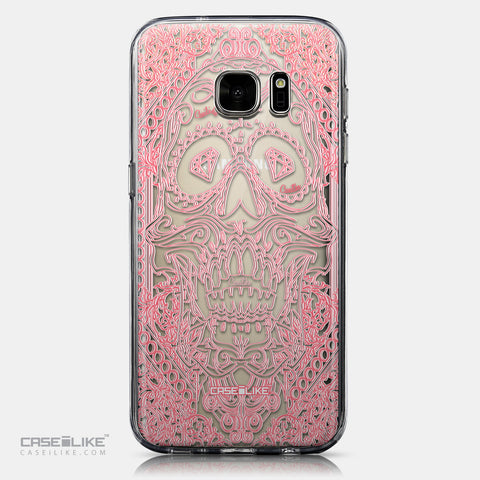CASEiLIKE Samsung Galaxy S7 back cover Art of Skull 2525