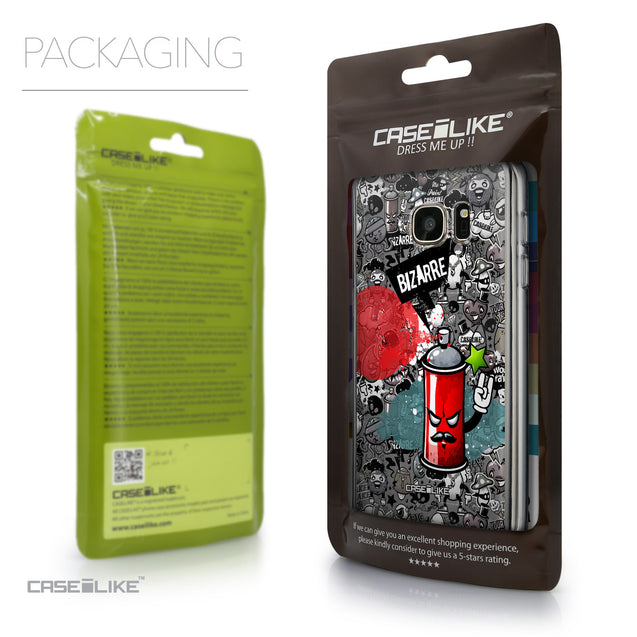 Packaging - CASEiLIKE Samsung Galaxy S7 back cover Graffiti 2705