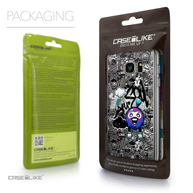 Packaging - CASEiLIKE Samsung Galaxy S7 back cover Graffiti 2706