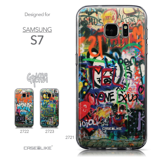 Collection - CASEiLIKE Samsung Galaxy S7 back cover Graffiti 2721