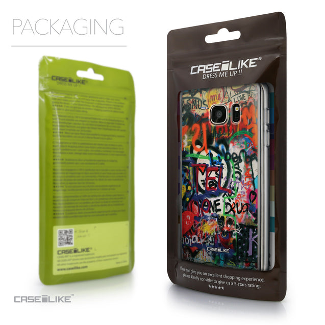Packaging - CASEiLIKE Samsung Galaxy S7 back cover Graffiti 2721