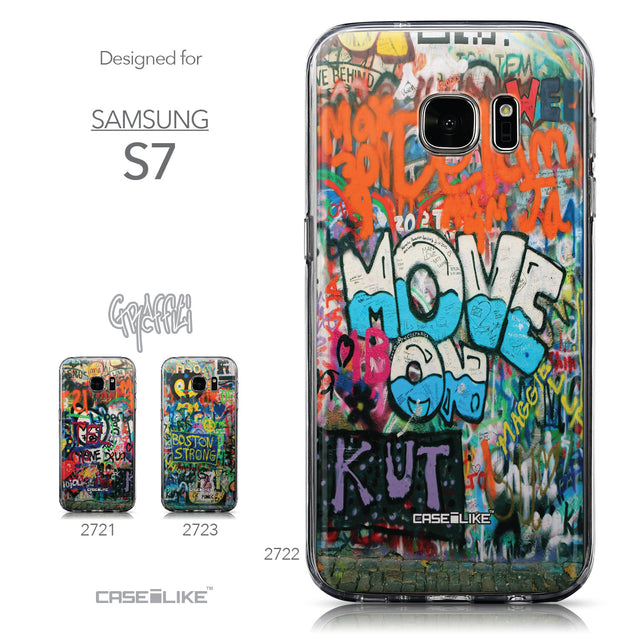 Collection - CASEiLIKE Samsung Galaxy S7 back cover Graffiti 2722