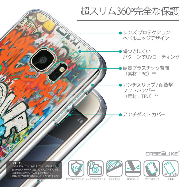 Details in Japanese - CASEiLIKE Samsung Galaxy S7 back cover Graffiti 2722