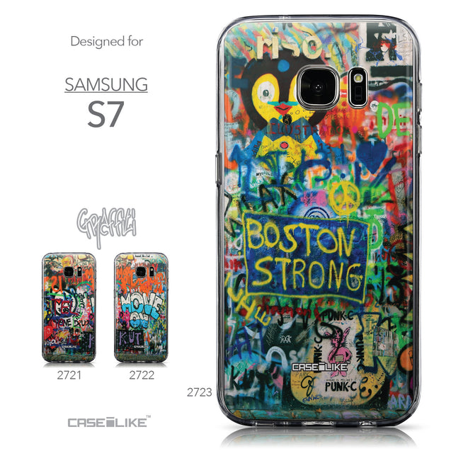 Collection - CASEiLIKE Samsung Galaxy S7 back cover Graffiti 2723