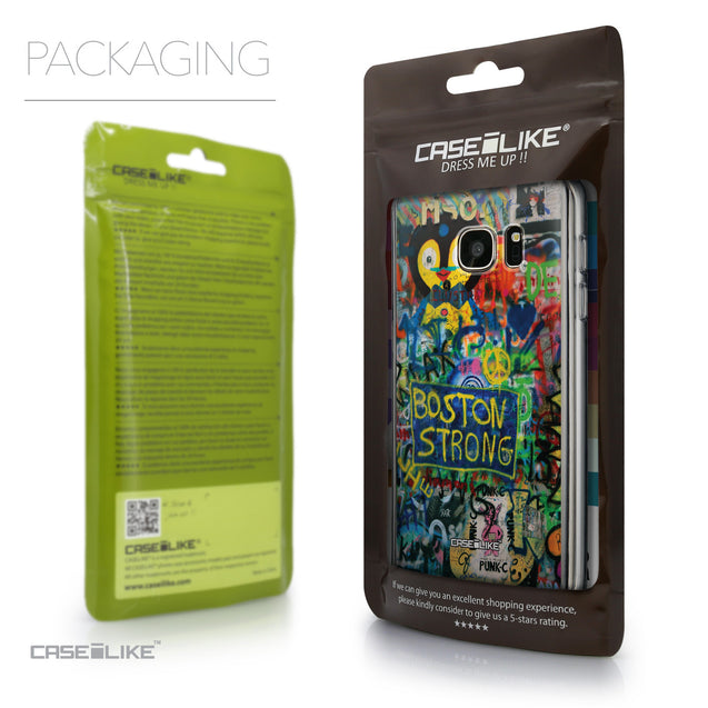 Packaging - CASEiLIKE Samsung Galaxy S7 back cover Graffiti 2723