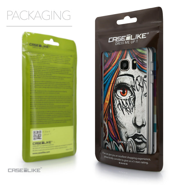 Packaging - CASEiLIKE Samsung Galaxy S7 back cover Graffiti Girl 2724