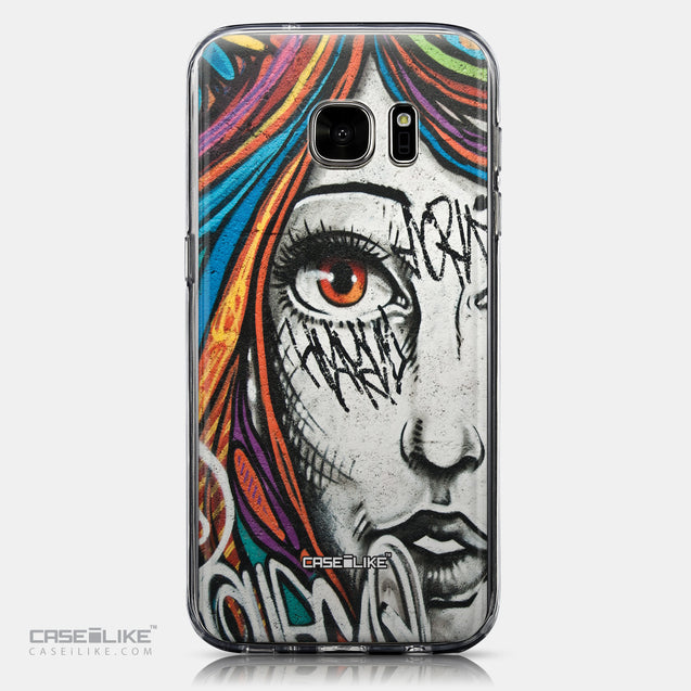 CASEiLIKE Samsung Galaxy S7 back cover Graffiti Girl 2724