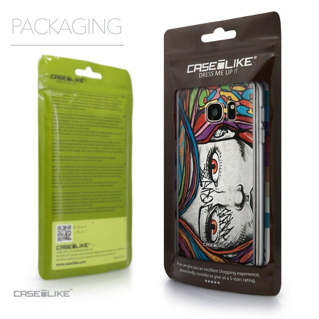 Packaging - CASEiLIKE Samsung Galaxy S7 back cover Graffiti Girl 2725