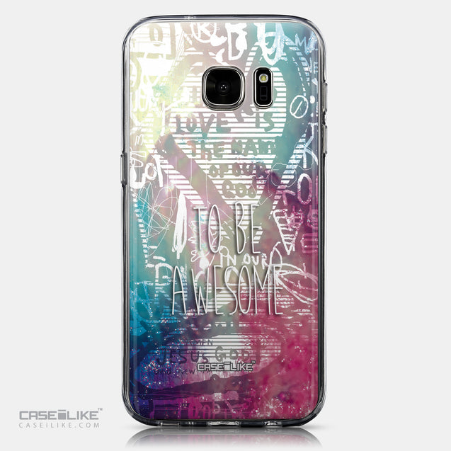 CASEiLIKE Samsung Galaxy S7 back cover Graffiti 2726