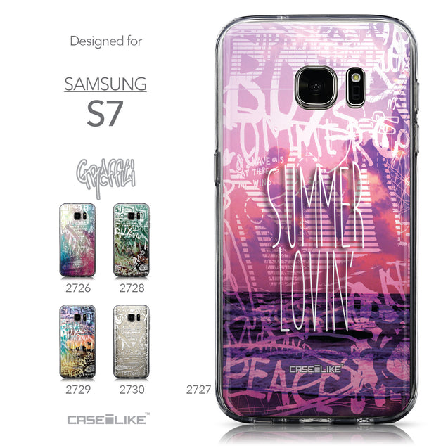Collection - CASEiLIKE Samsung Galaxy S7 back cover Graffiti 2727