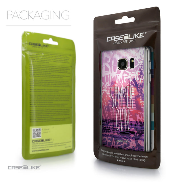 Packaging - CASEiLIKE Samsung Galaxy S7 back cover Graffiti 2727