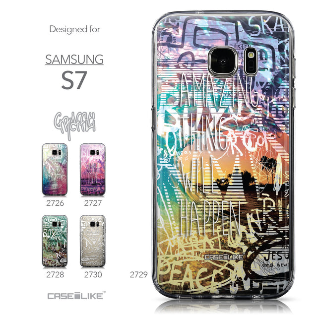 Collection - CASEiLIKE Samsung Galaxy S7 back cover Graffiti 2729